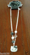 NWT HELLO KITTY NECKLACE PEARLS SILVER CLAIRE'S