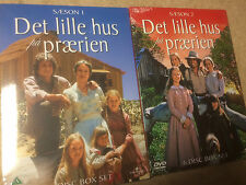 * DVDS TV NEW SEALED * THE LITTLE HOUSE ON THE PRAIRIE SEASONS 1 & 2 * sca