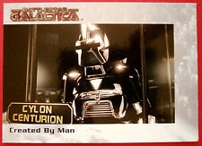 BATTLESTAR GALACTICA - Premiere Edition - Card #2 - Created By Man - Rittenhouse