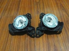 1Pair Clear Lens Fog Lights+Bulbs For Mazda CX-5 2013-2015