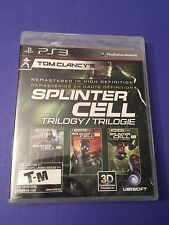 Tom Clancy's Splinter Cell Trilogy *in HD* PS3 NEW