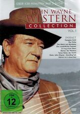 DOPPEL-DVD NEU/OVP - John Wayne Western Collection - Vol. 1 - 8 Filme