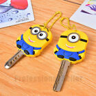 2 Style Despicable Me 2 Minion Stitch Key Cover Chain Cap Keyring Party Favor