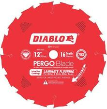 "NEW FREUD D1216LF 12"" 16 TEETH DIABLO PERGO FLOORING DIAMOND SAW BLADE 9022674"
