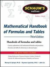 Schaum's Outline of Mathematical Handbook of Formulas and Tables, 3ed (Schaum's