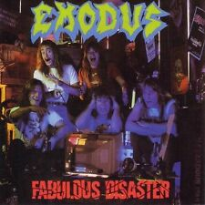 EXODUS - FABULOUS DISASTER - 2LP NEW SEALED REISSUE VINYL 2008