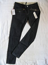 Replay Damen Blue Jeans Denim W29/L32 low waist regular fit straight leg rinsed