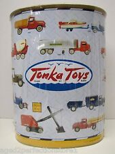 Tonka Toys Advertising Tin Metal Garbage Can limited edition unopened w popcorn