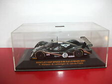 1810155 IXO Bentley EXP Speed Wallace leitzinger 24 heures du le mans 2001 1/43