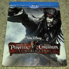 New Pirates of Caribbean At World's End Blu-ray Steelbook Zavvi Exclusive
