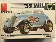 AMT ERTL '33 WILLYS COUPE 1/25 Scale Plastic model kit 6570 New in box