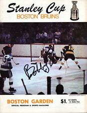 April 17, 1969 Boston Bruins Vs Montreal Canadiens Playoff Program Game 3