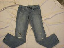 Women's Converse One Star Distressed Jeans - Size 4 x 33 - The Tomboy