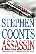 THE ASSASSIN Stephen Coonts stated 1st Edition 2008 Espionage Hardcover & Jacket
