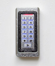 RFID-/PIN-Codeschloss, IP68, Metallgehäuse, Klingeltaste & Design-Transponder
