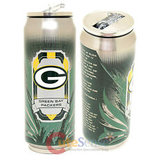 New Green Bay Packers Thermo Can Travel Tumbler Stainless Drink Container