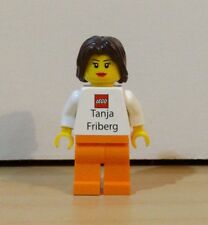 Rare Lego Employee Business Card Minifigure: Tanja Friberg