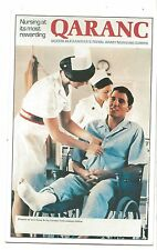 Army Recruitment Postcard Queen Alexandra's Royal Army Nursing Corps