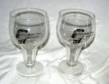 TWO ( 2) VINTAGE 1950'S  BETTIE PAGE QUEEN OF PIN-UPS BEER GLASS