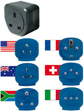 Brennenstuhl Travel Plug Adaptor Set x 6 for use in over 150 Countries