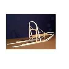 JNA Dasher Wooden Snow Dog Sled Wood Kicksled