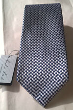 Classic Austin Reed Houndstooth NWT Mens 7 Fold Necktie Made In The U.K