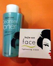 Kojie San Cleanser Toner Dual Whitening 100ml and Kojie San  Kojic Acid Cream