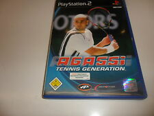 PlayStation 2  PS 2  Agassi Tennis Generation