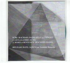 (GR250) Ichi / Rachael Dadd, split single - 2014 DJ CD