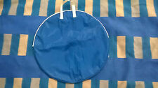 bike travel wheel bag cycle bicycle laggage blue