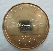 CANADA 2006 LOONIE NO MINT MARK BRILLIANT UNCIRCULATED DOLLAR