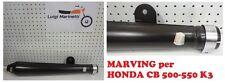 Marmitta Scarico Exhaust muffler Special cafè racer HONDA CB 500 Four - MARV H42