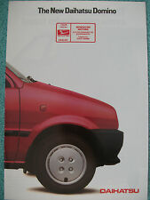 Daihatsu Domino brochure 1985 - 846cc 5 door model