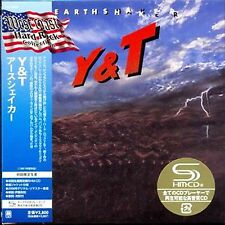 Y&T - Earthshaker - Japan Mini LP SHM - UICY-94050 - CD