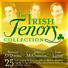 IRISH TENORS COLLECTION - VARIOUS 25 TRACK CD NEW