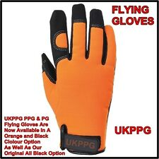Flying Gloves Paramotor Paraglider Paramotoring Gliding Hangliding LARGE ORANGE