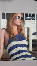 Patons Pattern Book #1305 Sorrento 8 Designs to Knit for Women