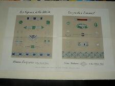 Affiche Bijoux Maurice Lespous Paris Atrs Décoratifs  poster  déco Emmel
