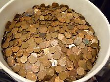 $240 Face Value US Copper Pennies, Machine Sorted 1959-1982 163 LBS 24,000 Coins