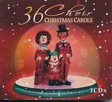 36 CHOIR CHRISTMAS CAROLS 3 CD SET NEW SEALED - CANTERBURY GUILDFORD ST GEORGE'S