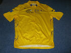 TOUR DE FRANCE 2006 NIKE YELLOW LEADERS CYCLING JERSEY [L] .