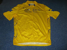 TOUR DE FRANCE 2006 NIKE YELLOW LEADERS CYCLING JERSEY [XL]