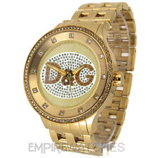 *NEW* DOLCE & GABBANA MENS D&G PRIME TIME GOLD WATCH - DW0379 - RRP £295