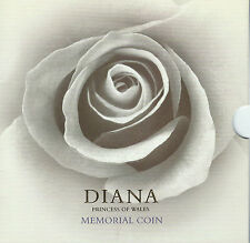 Princess Diana of Wales  Memorial Five Pound Coin Original Folder