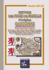 Histoire des noms de famille d'origine gasconne - Osmin Ricau