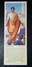 JULIUS CAESAR    Shakespeare    Mark Antony   1930's Vintage Card