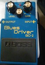 BOSS Blues Driver Guitar foot pedal