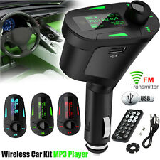 Car MP3 Player Wireless FM Transmitter SD USB Charger For Mobile Phone Tablet