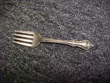 Oneida Community Sterling Silver MELBOURNE Baby Fork No Mono