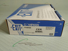 COMPASS CER LED EMERGENCY EXIT SIGN NIB!!